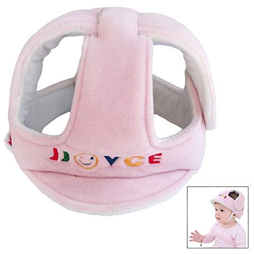 iwobi Baby Helmet Schutzhelm Babyhelm Helmm/ütze Kopfschutzm/ütze f/ür Kleinkind aus weicher Baumwolle Verstellbar