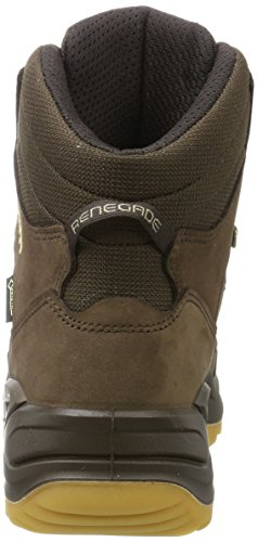 Lowa Renegade GTX Mid, Stivali da Escursionismo Uomo Marrone (Espresso/Honey)