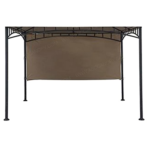 ABCCANOPY Sun Shade Sail Universal Canopy Gazebo Sunshade for Patios 10Ft Gazebos (140