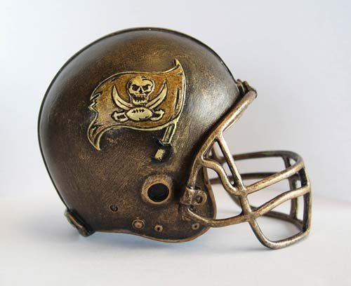 NFL Tampa Bay Buccaneers Desktop Helmet Statue by Wild Sports