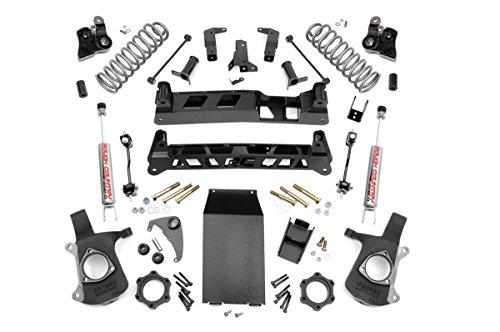 Rough Country - 28020-6-inch Non-Torsion Drop Suspension Lift System w/Premium N2.0 Shocks for Chevrolet: 00-06 Tahoe 4WD; GMC: 00-06 Yukon (Non Torsion Drop)