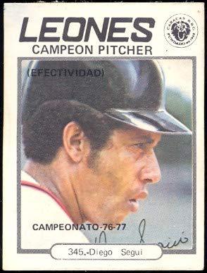 Amazoncom 1977 Topps Venezuelan Baseball Card345 Diego