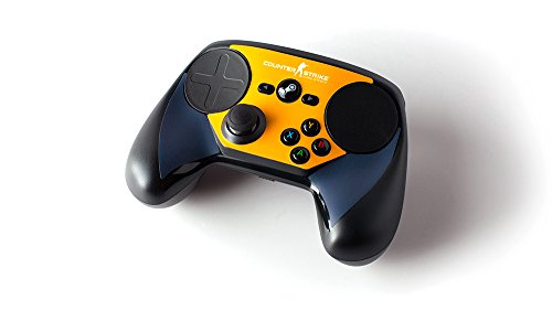 Steam Controller Skin – CSGO Blue/Orange For Sale