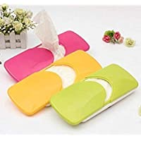 FLASH.ENTERPRISE Multi-Colored Car Tissue Paper Holder Box