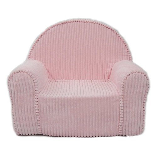 Fun Furnishings 60302 My First Kids Club Chair in Chenille Fabric, Pink