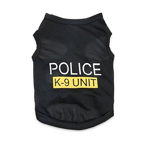 DroolingDog Pet Dog Shirts Dog Police Vest Dog T Shirt for sale  Delivered anywhere in Canada
