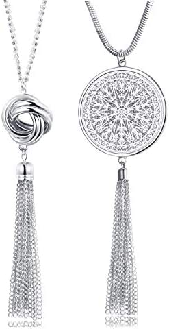 FUNRUN JEWELRY Pendant Necklaces Circle product image