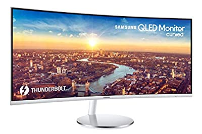 Samsung C34J791 34-inch QHD Ultrawide Curved Monitor with Thunderbolt 3 (LC34J791WTNXZA)