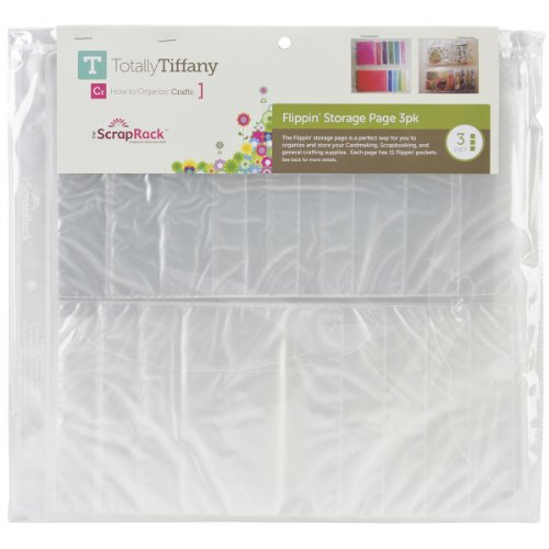 Totally-Tiffany ScrapRack Flippin Storage Page, 3-Pack (SP82) by Totally-Tiffany