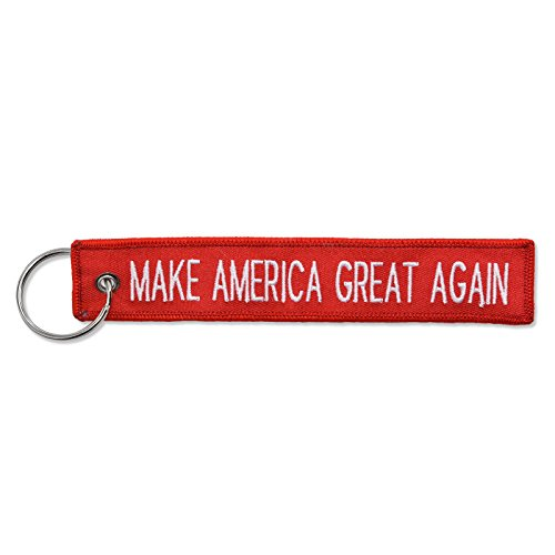 Make America Great Again Remove Before Flight Style Key Chain 5.5