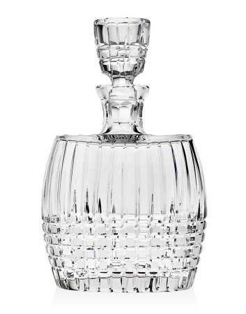 Godinger Tartan Whiskey Decanter*Ceska by Godinger