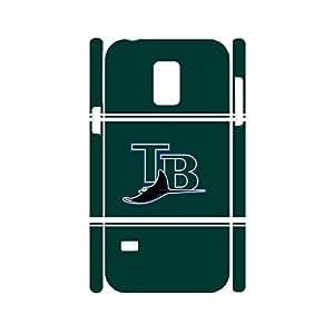Colorful Frame Glossy Funny Dustproof Baseball Team Logo Print Phone Cover Skin for Samsung Galaxy S5 Mini SM-G800 Case