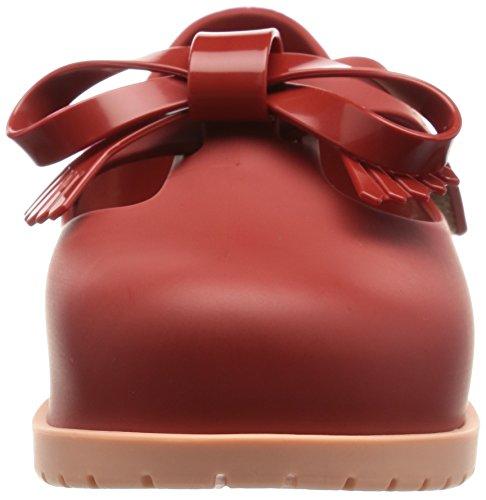 MINI MELISSA - Ballerine rouge réalisée en plastique MELFLEX, un caoutchouc parfumé, biodégradable et écologique, fille, filles