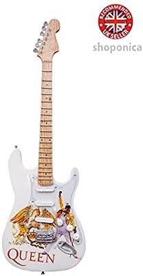 Queen – Un tributo de madera miniatura Guitarra Replica: Amazon.es ...