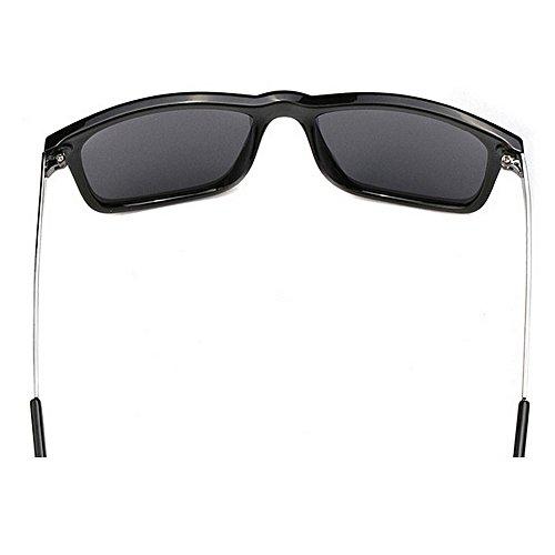 de Grande Espejo Polarizadas De Conducción Piernas para Hombre Metal De Gafas Gafas LBY De Sol De Marco Sol SX6Bvwzxq