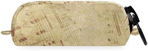 Bolso cosmético Estuche para bolígrafos Chica Niño Partituras Estuche grande Estuche grande: Amazon.es: Oficina y papelería