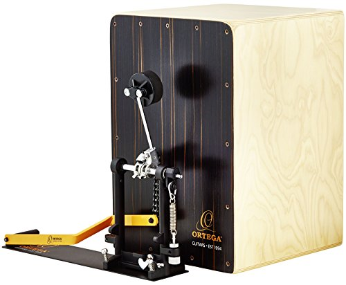 - Ortega Guitars OSTBCJ-BU Stomp Box Cajon Bundle