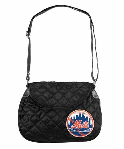 MLB New York Mets BCA Quilted Saddlebag ()