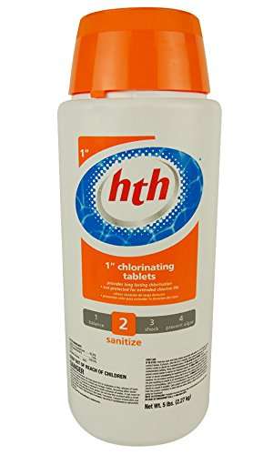 Tabs Action (HTH 41227 Dual Action 1-Inch Chlorinating Tablets, 5-Pound)