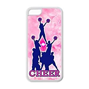 Diy iPhone 6 plus Active Girly Cheerleading AppleIphone 6 plus Cover TPU Pink for girl Cheer Pyramid