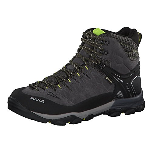 Meindl Men's Hiking Shoes Anthrazit/Lime