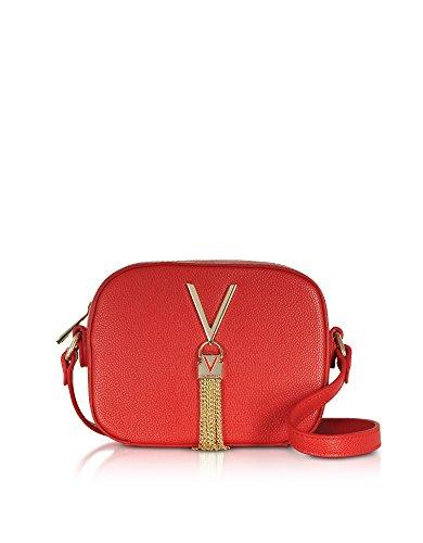 Valentino By Mario Valentino Damen VBS1R409GRED Rot Kunstleder Schultertasche