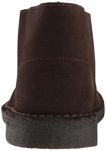 Clarks Menns Ørken Chukka Boot, Brun Semsket Skinn, 6 Medium Oss