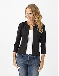 GS~LY Women's Casual/Cute/Work Fashion Slim Short Blazer , fuchsia-xl , fuchsia-xl