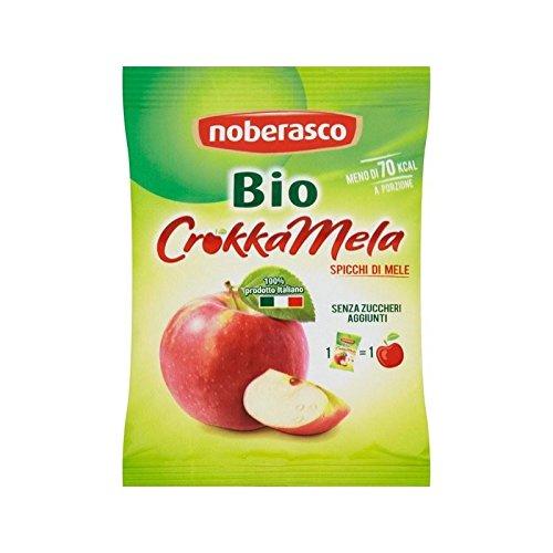 Noberasco Organic Crunchy Apples 20g - Pack of 4