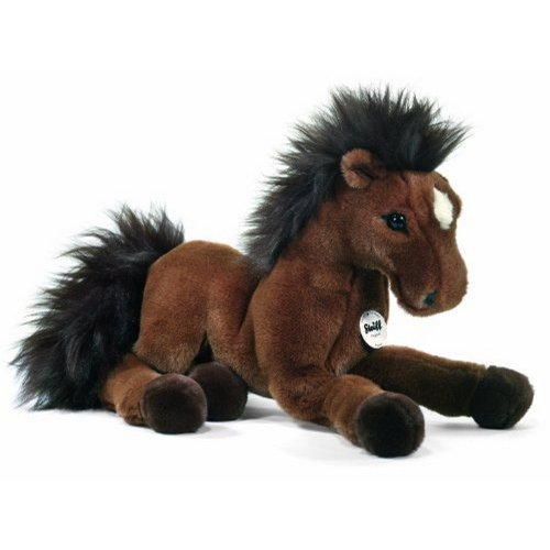 Steiff Hanno Dangling Hanoverian Plush, Brown