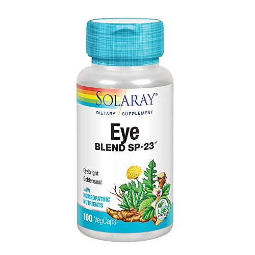Solaray Eye Blend SP-23 Capsules, 100 Count