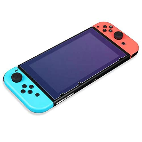 (Premium Tempered Glass Screen Protector for Nintendo Switch 2017 - 0.24mm/9H hardness/HD/Anti-fingerprint (2-Pack))