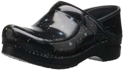 Dansko Women's Pro Stargazer Patent Clog,Black,36 EU/5.5-6 M US
