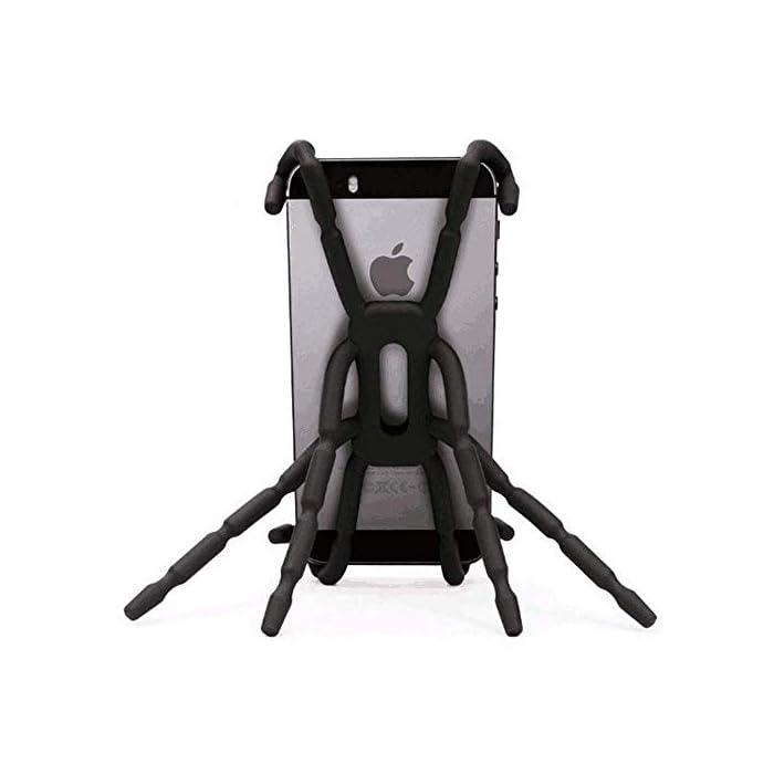 41EqNr4oGiL Haz clic aquí para comprobar si este producto es compatible con tu modelo Cantidad: 2 piezas. Color: negro. 8 piernas son mejores que 3. Utilízalo como un trípode fijo o un octopod.