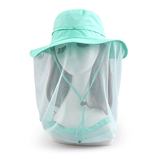 ezyoutdoor-womens-outdoor-removable-anti-mosquito-polyester-anti-uv-flap-cap-fishing-hat-with-360-de