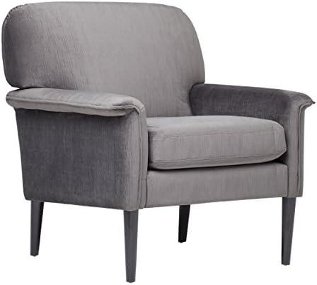 Studio Designs Home , Mansard Arm Chair, CHARCOAL