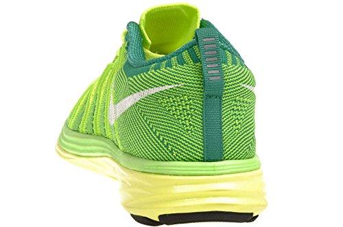 Volt Femmes Lunar2 Nike Flyknit Électrique 700 Vert Blanc gfx1qw6