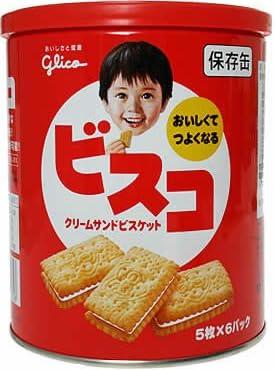 グリコ ビスコ保存缶30枚入(1缶)