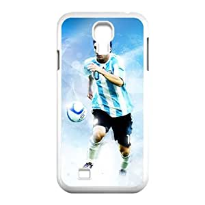 Samsung Galaxy S4 9500 Cell Phone Case White Lionel Messi qfgj