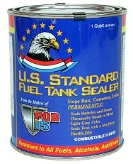 POR-15 Fuel Tank Sealer - Halfpint Gas Tank Leak Repair