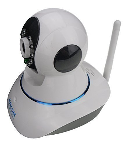 AVACOM H5060W Wireless Network IP Camera, Plug & Play, 720P HD 1280720, PTZ, ONVIF 2.1 Compatible, Night Vision and Two-Way Audio (White, Refurbished)