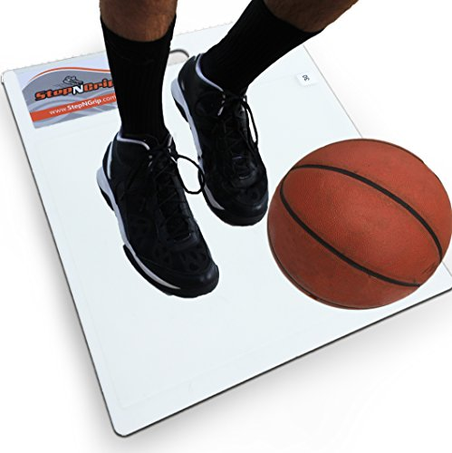 """StepNGrip Stop Slipping Economy Model Shoe Traction System for Teams, 19"""" x 21"""", White"""