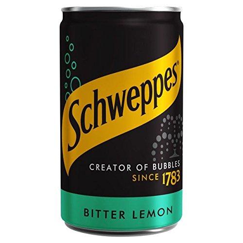 Schweppes Bitter Lemon Mini Can - 150ml (5.07fl oz)