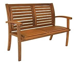 Outdoor Interiors 21440 Luxe Eucalyptus Bench
