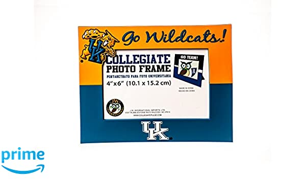 Amazon.com : Collegiate Pulse Kentucky Wildcats NCAA PVC Photo Frame : Sports & Outdoors