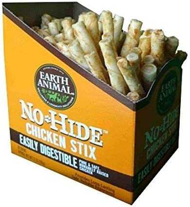 Earth Animal No-hide Chicken Stix 90 Count Value Box