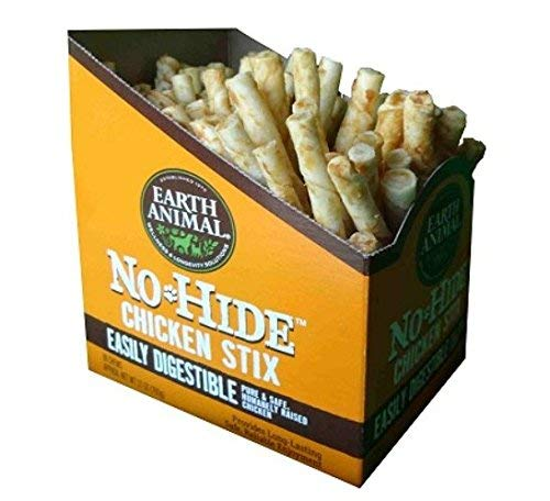 Earth Animal No-hide Chicken Stix 90 Count Value Box by Earth Animal