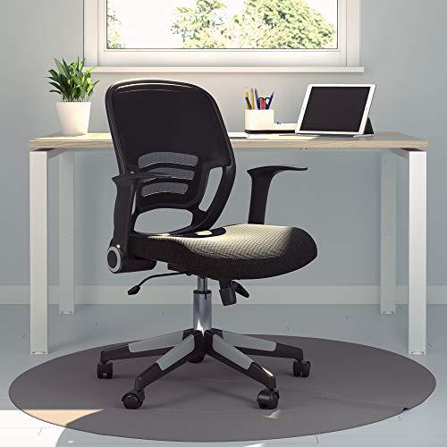 Office Hippo Stuhl, Textil, schwarz, 62x62x100 cm