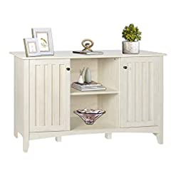 Farmhouse Buffet Sideboards SGHB Accent Storage Cabinet with Doors Entryway Bar with Adjustable Shelves Farmhouse Buffet Sideboard for Living Room… farmhouse buffet sideboards