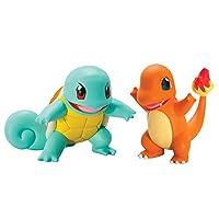 Pokémon Pack 2 Figuras pequeñas, Squirtle Y Charmander